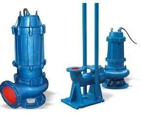 潜水排污泵无堵塞、防缠绕、通污能力强