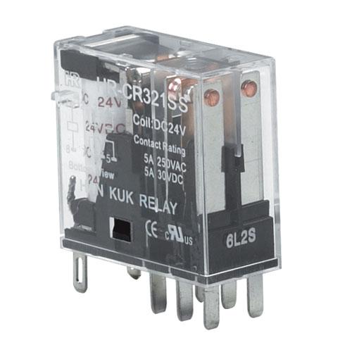 韩国凯昆kacon小型控制继电器hr705-4p工业继电器功率