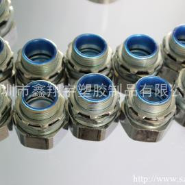 电缆保护管接头,金属软管接头,包塑金属软管配套接头