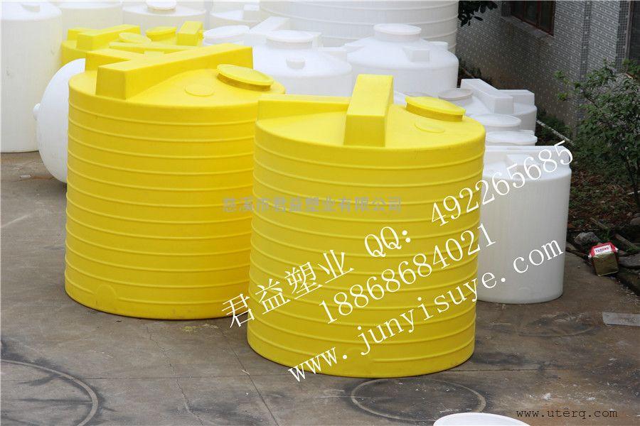 君益牌5吨PE加药桶黄色MC-5000L