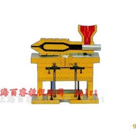 BR-M05C塑料成型工艺与模具设计拆装模型(全铝制)