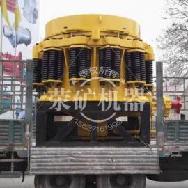 荥矿机销往四川地区PYD2200圆锥破用于铁矿石破碎
