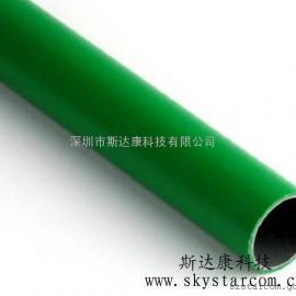 厂家批发绿色线棒 精益管 钢塑复合管