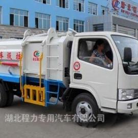 侧装提升桶式垃圾车