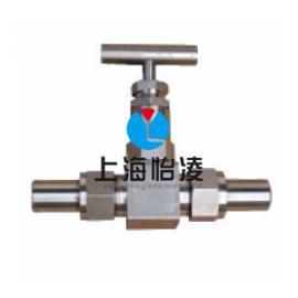 上海针型阀厂家|上海怡凌ZZJ-卡套式针型阀(锻造直通)