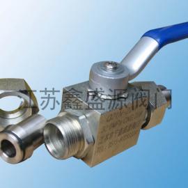 CNG天然气专用高压球阀