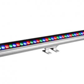 24WLED洗墙灯 七彩大功率洗墙灯 投光灯 LED灯具 LED线形灯