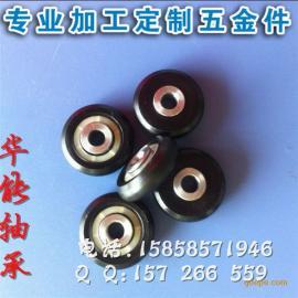 低噪音塑料外圈轴承滑轮 非标滑轮