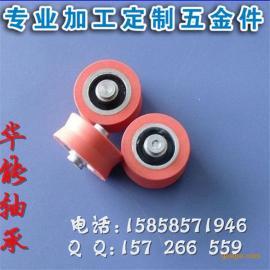 浙江厂家生产高质量低噪音碳钢非标轴承滑轮 尼龙铝合金滑轮