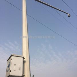 广汉圆锥摄像机立杆厂家生产