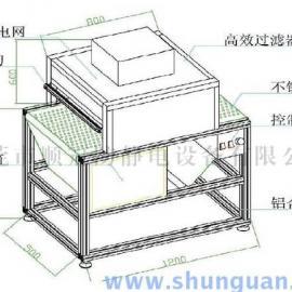 东莞除静电除尘自动流水线-广州静电除尘箱生产厂家