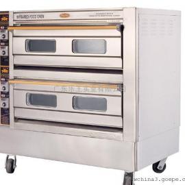 恒联电烘炉  喷涂商用烤箱  两层四盘烤箱