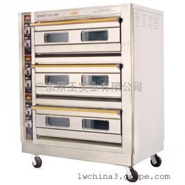 恒联三层九盘喷涂烤箱  面包电烤箱  商用电烤箱