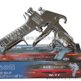 日本佐?#25628;?#30000;W-71油漆喷枪/高雾化家具汽车喷漆枪