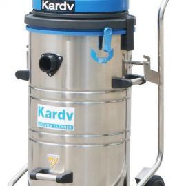 厂房用吸粉末工业吸尘器-凯德威机戒厂用吸尘器-吸纸削吸尘器