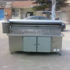 无烟烧烤箱 油烟净化烧烤车 不锈钢无烟烧烤车
