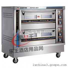 两层燃气烤箱 商用蛋糕烤箱面包烤炉 大型烤箱