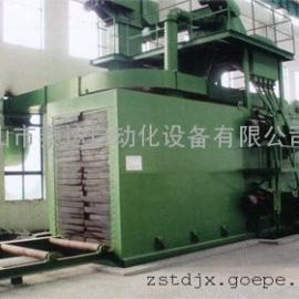 钢板通过式抛丸机-钢板抛丸清理机