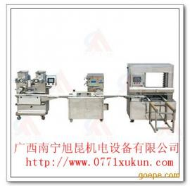 桂林小型作坊月饼机,月饼机全套设备出售