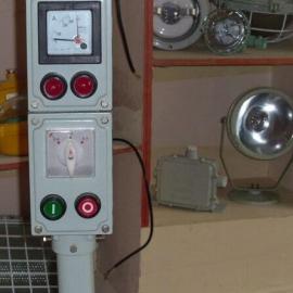 2灯2钮防爆操作箱BZC81 防爆铸铝操作柱
