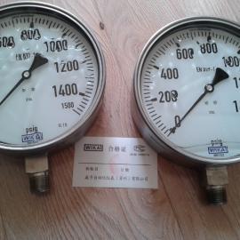 WIKA机械压力表