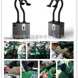 电烙铁焊锡排烟器