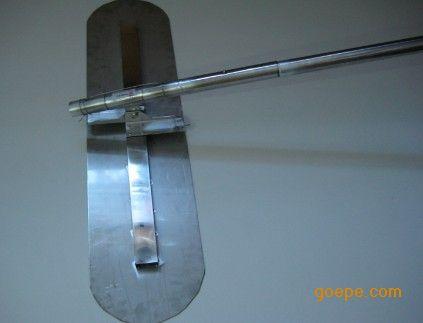 耐磨地坪施工抹子/不锈钢大抹刀价格/压花地坪修边器/收边刀