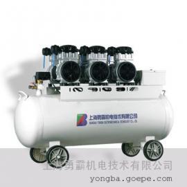 医用静音无油空压机,勇霸医用空气压缩机 YB-W750