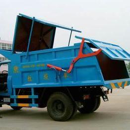 密封式环卫垃圾车