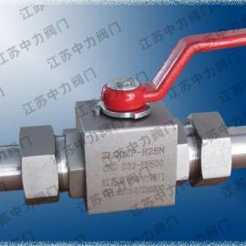 加气站高压球阀 CNG高压球阀 天然气高压球阀