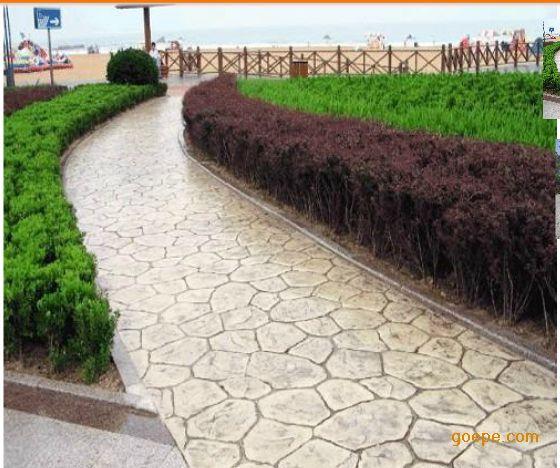 彩色水泥地坪