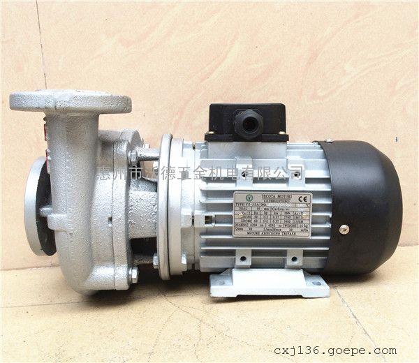 高温热油泵 台湾元欣水泵 YS-35C 200度热油泵