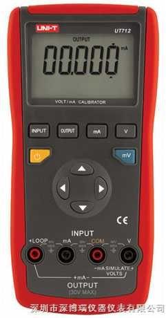 优利德过程校验仪UT712/UT712