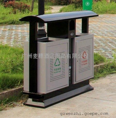 p-p173标准型分类垃圾桶,广州街道分类垃圾箱