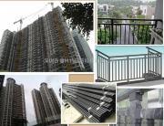 楼盘楼盘新型阳台护栏-热镀锌钢材质 20年以上不生锈 环保耐用精�
