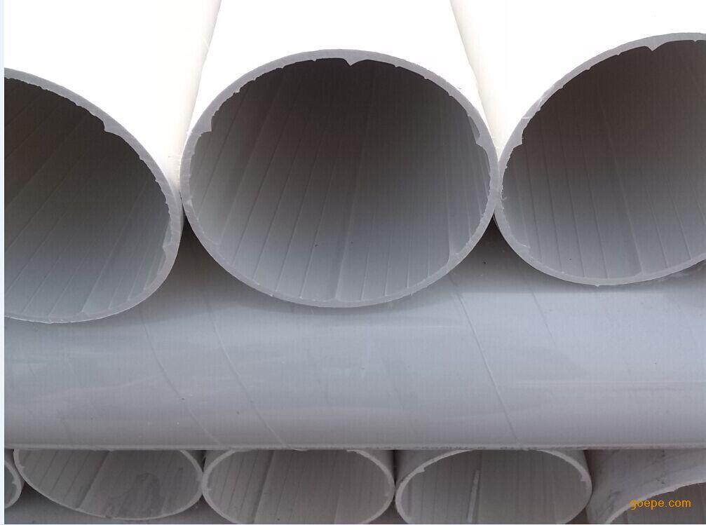 中财牌 UPVC螺旋排水管 UPVC 中空 螺旋排水管