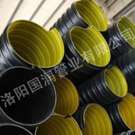 钢带波纹管价格,HDPE钢带增强螺旋波纹管