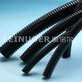 耐低温阻燃尼龙软管,黑色塑料波纹管