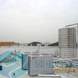 河源空气能热泵热水器,热泵加热机组,员工用水加热