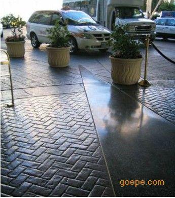 压模地坪完工后如何养护?