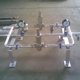 双路带旁通式氧气减压调压装置装置