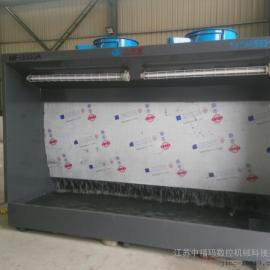江苏水帘机喷漆台多年制造中福玛喷漆水帘柜非标厂家生产