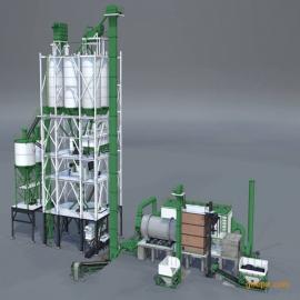 出口螺旋输送FU链式输送机水泥砂浆生产线设备