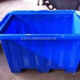 厂家供应500L铲车桶、500L方形铲车桶、半吨方箱铲车桶