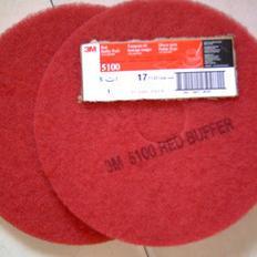 台湾蝴蝶牌BF百洁垫,石材清洁垫,17寸,红色5100起蜡垫 10件包邮