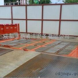 四川建筑工地全自动洗车机、工程车辆冲洗机