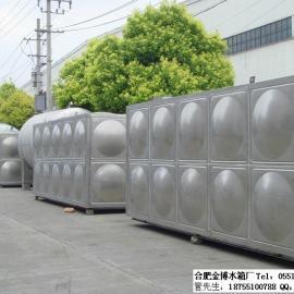 全椒不锈钢水箱/圆柱形保温水箱/消防水箱