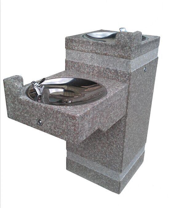 石材公共饮水台图片