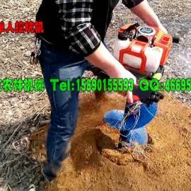 便携式汽油挖坑机挖坑效率高