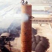 砖烟囱拆除加高